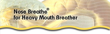 Nose Breathe for Heavy Snorer